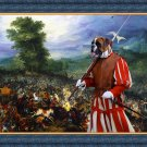 German Boxer Fine Art Canvas Print - For King and Queen