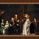 Great Dane Fine Art Canvas Print - The Cholmondeley Family