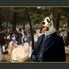 Great Dane Fine Art Canvas Print - Music with Tuileries