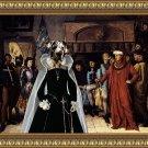 Great Dane Fine Art Canvas Print - Waiting for the judgement