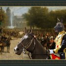 Great Dane Fine Art Canvas Print - The pride of the imperial quard