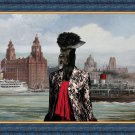 Great Dane Fine Art Canvas Print - The waterfront