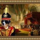 Grosser Schweizer Sennenhund Fine Art Canvas Print - The Coronation