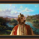 Hovawart Fine Art Canvas Print - King's land