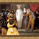 Hovawart Fine Art Canvas Print - The Italian comedians