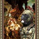 Mastino Napoletano Fine Art Canvas Print - Justice de Trajan