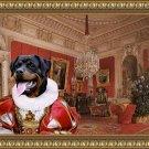 Rottweiler Fine Art Canvas Print - Premazzi, Luigi  Interiors of the Winter Palace