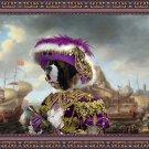 Saint Bernard Fine Art Canvas Print - Pirate