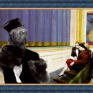 Shar Pei Fine Art Canvas Print - Intermezzo in the theater