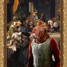 Shar Pei Fine Art Canvas Print - The Banquet