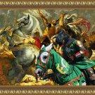 Standard Schnauzer Fine Art Canvas Print - The battle to the death