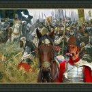 Tosa Fine Art Canvas Print - A call to battle