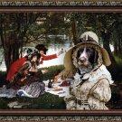 Cesky Fousek Fine Art Canvas Print - Partie Carree