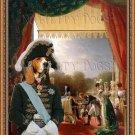Chien d'Artois Fine Art Canvas Print - Napoleon visite
