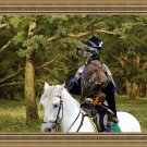English Setter Fine Art Canvas Print - The Forest Clearing