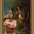 German Short Haired Pointer Fine Art Canvas Print - After the hunt