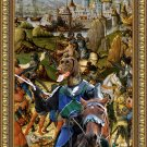 German Short Haired Pointer Fine Art Canvas Print - Brave Knight