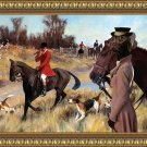 German Short Haired Pointer Fine Art Canvas Print - Call for hunting foxes