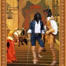 Gordon Setter Fine Art Canvas Print - The musqeteers of the king