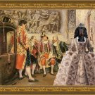 Gordon Setter Fine Art Canvas Print - Waiting For His Eminence