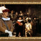 Hungarian Shorthaired Vizsla Fine Art Canvas Print - The Round of Night