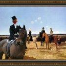 Hungarian Shorthaired Vizsla Fine Art Canvas Print - The meet with Mr. Jones