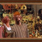 Hungarian Shorthaired Vizsla Fine Art Canvas Print - The Combat of Carnival