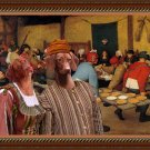 Hungarian Shorthaired Vizsla Fine Art Canvas Print - The Wedding banquet