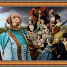 Hungarian Wirehaired Vizsla Fine Art Canvas Print - Celebrety