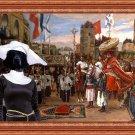 Large Munsterlander Fine Art Canvas Print - Pape at Jerusalem
