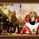 Chesapeake Bay Retriever Fine Art Canvas Print - Concert near to the castle