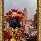 English Cocker Spaniel Fine Art Canvas Print - Rio St Barnaba Venice
