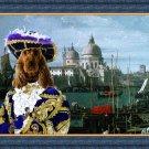 English Cocker Spaniel Fine Art Canvas Print - Pirate in Venice