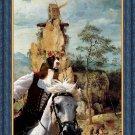 English Springer Spaniel Fine Art Canvas Print - Portement of Cross