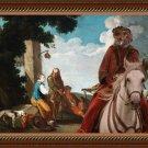 German Spaniel Fine Art Canvas Print - Guest
