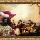 Irish Water Spaniel Fine Art Canvas Print - Le Colin
