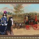 Kooikerhondje Fine Art Canvas Print - The London to Hastings Royal Mail