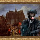 Labrador Retriever Fine Art Canvas Print - The best looking for the church ceremony
