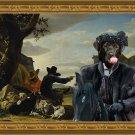 Labrador Retriever Fine Art Canvas Print - The Black Duke