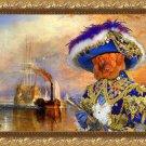 Nova Scotia Duck Tolling Retriever Fine Art Canvas Print - The blue Pirate
