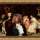 Portuguese Water Dog Fine Art Canvas Print - The Interlude