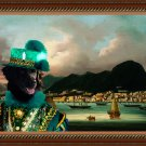 Stabyhoun Fine Art Canvas Print - The Rich Shipowner in the Port