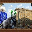Bolognese Fine Art Canvas Print - Piazza Santa Trinita Firenze