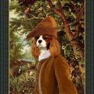 Cavalier King Charles Spaniel Fine Art Canvas Print - The Paradise