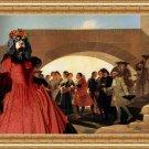 Cavalier King Charles Spaniel Fine Art Canvas Print - La Noce