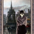 Chihuahua Smooth Haired Fine Art Canvas Print - Wating for the lover