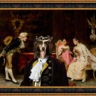 Chinese Crested Dog Fine Art Canvas Print - Powder Puff The interlude