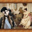 French Bulldog Fine Art Canvas Print - The serenade