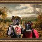 French Bulldog Fine Art Canvas Print - The Fair day