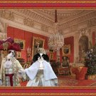 Japanese Chin Fine Art Canvas Print - Interiors of the Winter Palace